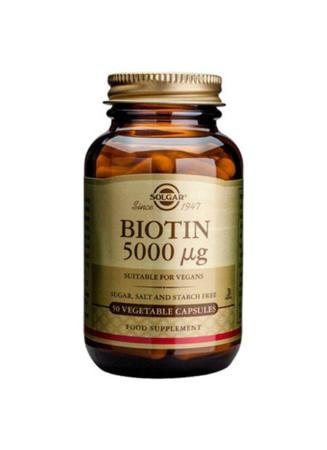 Biotin 5000MCG 50 vcaps