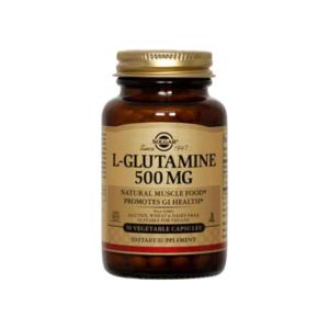 L Glutamine 500mg 50 vcaps