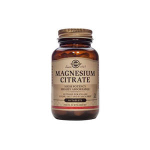 Magnesium Citrate 60 tabs