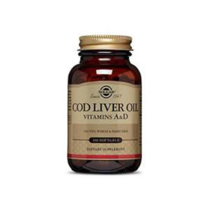 Norwegian Cod Liver Oil Gels 100 SFG