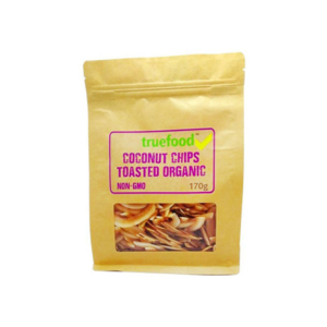 Truefood - Coconut Chips Toasted Organic 170g
